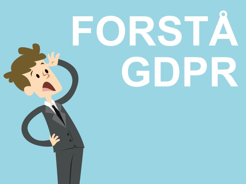 Forstå GDPR (Persondataloven) på 2 minutter